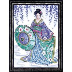 Blue Geisha by Joan Elliott -
