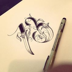 Hand Type Vol. 3 - Calligraphy, Illustration, Typography - by Raul Alejandro