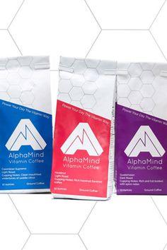 Alpha Mind vitamin coffee #coffee