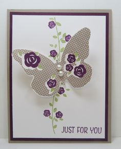 stampin' up floral wings hostess set