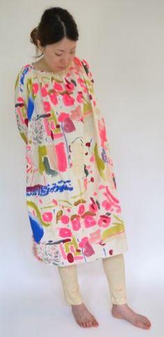 Nani Iro long blouse