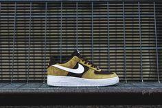 Nike Air Force 1 Golden TAN Impresiona con estas zapatillas #zapatillas #nike #tenis2015 #zapatillastendencia #tendencia2015