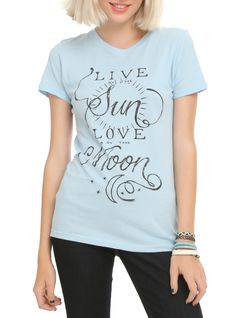 quote DIY idea // Live By Sun Love By Moon Girls T-Shirt