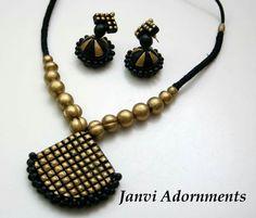 62 Super Ideas For Jewerly Making Ideas Earrings Chains Funky Jewelry, Trendy Jewelry, Jewelry Art, Beaded Jewelry, Handmade Jewelry, Fashion Jewelry, Jewelry Design, Terracotta Jewellery Making, Terracotta Jewellery Designs