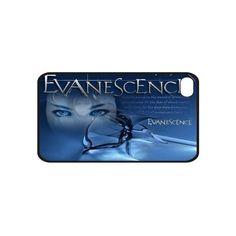 New Evanescence Hard Case Skin Cover Apple iPhone 4 4S found on Polyvore