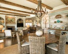 Wicker Dining Room