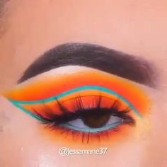 Crazy Eye Makeup, Edgy Makeup, Creative Eye Makeup, Makeup Eye Looks, Eye Makeup Art, Colorful Eye Makeup, Blue Eye Makeup, Eyeshadow Looks, Exotic Makeup