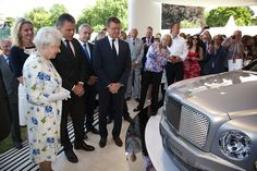 Queen set to receive first Bentley 4x4 after test driving it around Balmoral! Bentley hold the Royal Warrant for HM
