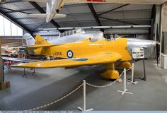 Miles Magister I L6906. Museum of Berkshire Aviation. Crew: 2, instructor & student.  Length: 24 ft 7 in (7.51 m). Wingspan: 33 ft 10 in (10.31 m) .Height: 9 ft 1 in (2.77 m). Wing area: 176 ft² (16.3 m²). Empty: 1,260 lb (570 kg). Loaded: 1,863 lb (845 kg). Powerplant: 1x de Havilland Gipsy Major 1 inverted Inline type, 130 hp (97 kW).Maximum speed: 132 mph at 1,000 ft (212 km/h) .Range: 380 miles (610 km). Service ceiling: 18,000 ft (5,500 m) .