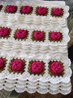 Croche - Muitas toalhas Barradas ...