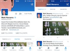Twitter Tests More Inviting Profile Designs On Mobile | TechCrunch