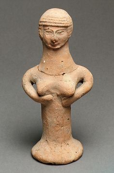 Judean Female Figurine / 800-600 BCE / Lachish, Israel