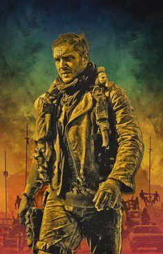 fuckyeahmovieposters: Mad Max: Fury Road by Luis Fernando Cruz