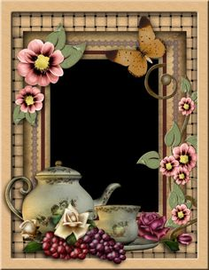 Tea Frame 3 by collect-and-creat