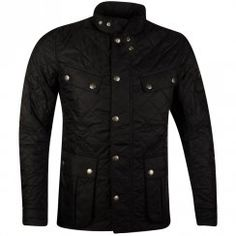 Barbour International Black Ariel Quilt Jacket. Available now at www.brother2brother.co.uk