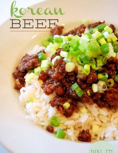 Domestic Goddesses in Training: Korean Beef