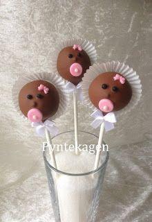 PynteKagen. Pops for baby shower. Cute