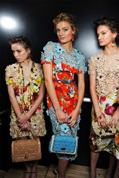 Dolce and Gabbana #backstage