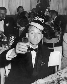 Bing Crosby New Year's toast.