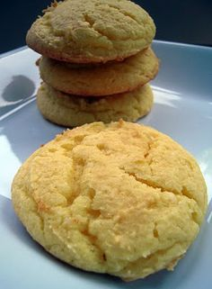 Soft Lemon Ricotta Cake Mix Cookies  *Easy and I drizzled  a lemon glaze over each cookie.  ½ cup powdered sugar + 1 tbs water + ¼ tsp lemon extract