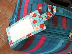 luggage tag tutorial