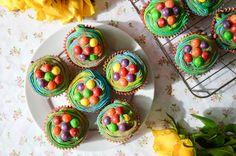 Skittles Cupcakes ♥