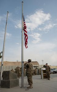 Service members in Afghanistan honor National POW/MIA Recognition Day