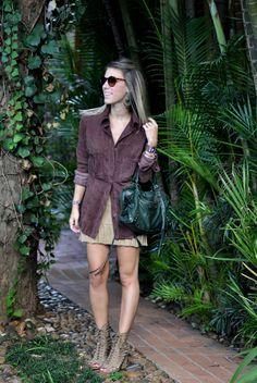 glam4you - nati vozza - look - blog - camisa chamois - saia tricot - tricot - sandalia nude - balenciaga - look -