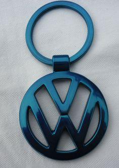 VW Volkswagen Key Chain Ring Metal Passat Jetta by AutoArtMike, £6.99