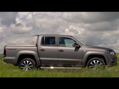 2016 Volkswagen Amarok Indiumgrau Matt V6   SUBSCRIBE for New Cars:  https://www.youtube.com/c/wmediatv?sub_confirmation=1  Volkswagen has released more images and details of its facelifted and updated Amarok. The premium pickup bucks the downsizing trend and instead beefs up the engine range ditching the 2.0 TDI units for a new 3.0-litre V6 diesel engine available in three power outputs.  The new engines should provide plenty of grunt for the Amarok to take on other recently updated rivals…