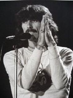George during Dark Horse Tour in 1974