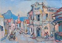 Fine Art by Gregoire Boonzaier includes District Six, just one example of the quality Landscape Art fine artwork available on our Fine Art Gallery Online. Browse other Paintings by Gregoire Boonzaier in our Fine Art Gallery. South Africa Art, South African Artists, Affordable Art, Art Auction, Fine Art Gallery, Landscape Art, Art Forms, Lions, Past