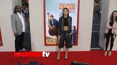 Zendaya BLENDED Los Angeles Premiere RED CARPET