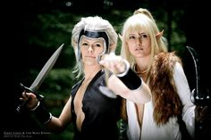 Amazing #Elfquest cosplay of Skywise and Cutter.  www.elfquest.com