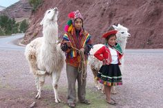 cute kid & llama combo - only in Peru do they get this cute!