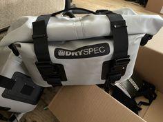DrySpec D20 Waterproof Motorcycle Drybag Saddle Bags Ducati Diavel Carbon, Ducati 1299 Panigale, Ducati Supersport, Ducati Multistrada 1200, Ducati Superbike, Ducati Hypermotard, Honda Shadow Phantom, Rear Bike Rack, Moto Guzzi California