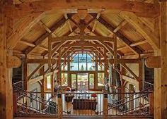 timber frame houses - Google Search