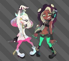Pearl and Marina #Splatoon2