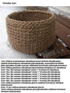 Laundry Basket, Wicker, Baskets, Knitting, Crochet, Diy, Ideas, Tricot, Bricolage