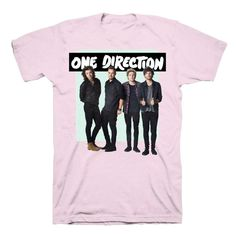 One Direction - One Direction Green Box Kids Pink T-Shirt - 12-13 Years