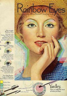 vintage makeup ads | Tumblr
