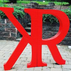 Custom order your company letters, college monogram, end of year celebration! This Listing gives you a wide range of possibilities. Have your logo created in Styrofoam for your decorating needs.  The logo pictured above was done for a wedding in Califorina- The piece was 40 inches tall painted red to match the wedding decor. Get yours done today. Send me a message with the sample of your logo and I will be able to estimate a price for you. Listed prices are estimates of cost for the size…