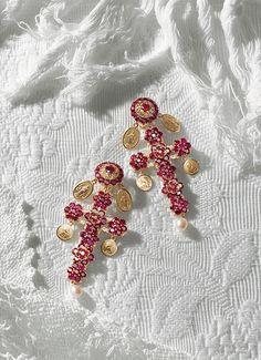 Collane rosario e orecchini in oro con pendente croce - D&G Gioielli   Jewellery Dolce&Gabbana