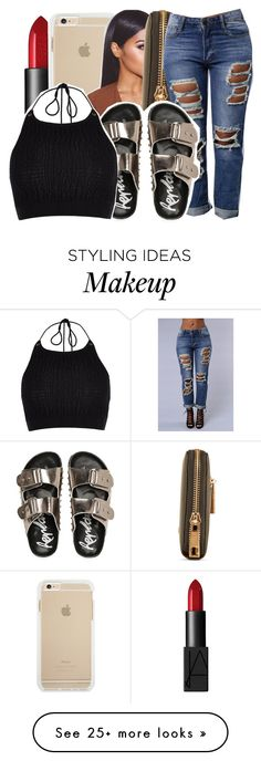 """"" by ayeeitsdessa on Polyvore featuring NARS Cosmetics and River Island"