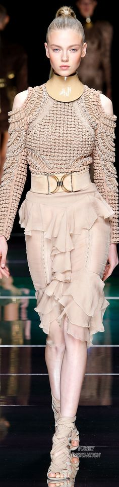 Balmain SS2016 Women's Fashion RTW | Purely Inspiration