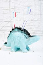 Dinosaur Toothbrush Holder at Urban Outfitters