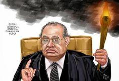 É Dia do Trabalho, feriado, mas o Ministro mais honesto e confiável do Supremo, Gilmar Mendes, está trabalhando. E o juiz não achou nada engraçada a Medida…