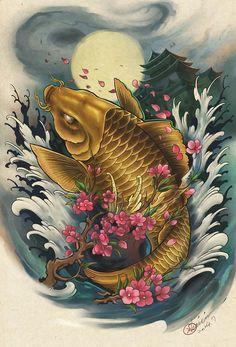 Hailin Fu via Adhitya Rasmi Tattoo Flash Design by AdhityaRasmi on DeviantArt