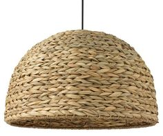 Shoreline Sea Grass Pendant, Natural - Bring Beachy Ease to the Entry - Week 20 - Sales Events | One Kings Lane