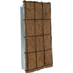 Pride Garden Products 11 in. W x 19 in. H Live Green AquaSav Coco Vertical Wall Planter
